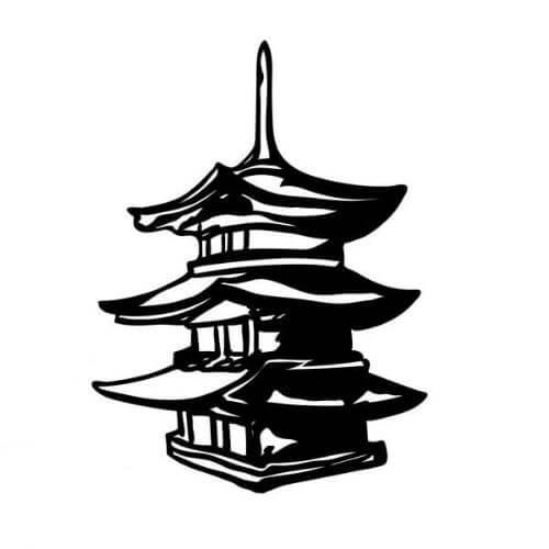 pagode - Symbole  spirituel signification