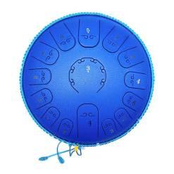 Tambour à langue bleu - Sept Chakras