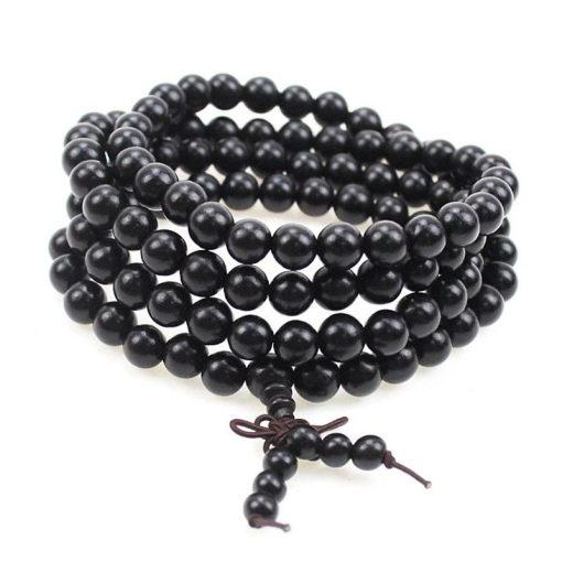 Bracelet Mala Bouddhiste - Mala Tibétain - Sept Chakras
