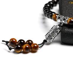 Bracelet Mala Homme - Mala Tibétain - Sept Chakras