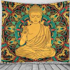 Tenture murale chambre - Décoration zen - sept chakras
