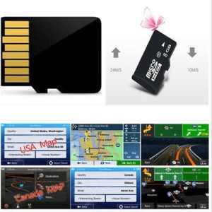 Car GPS Software & Maps