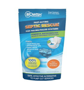 Septic Rescue Packaging