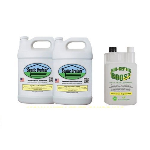 Septic Drain Field Repair and Maintenance Kit - One Year Supply - Septic  Drainer
