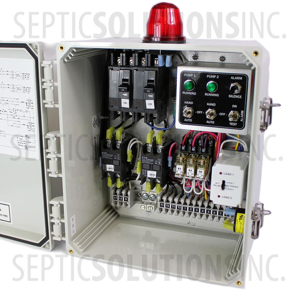 duplex pump control panel schematic low level switch motor sje rhombus wiring diagram panels sje control rhombus 1121w120h16b17c [ 1200 x 1200 Pixel ]
