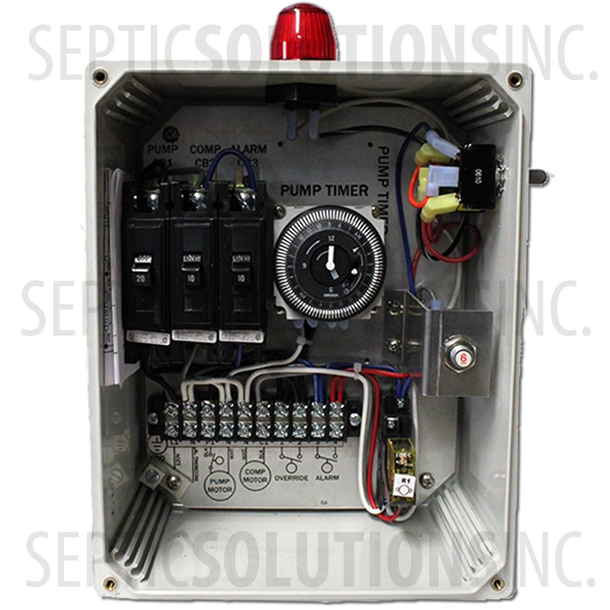 septic pump alarm wiring diagram 1997 honda fuse box high water tank get