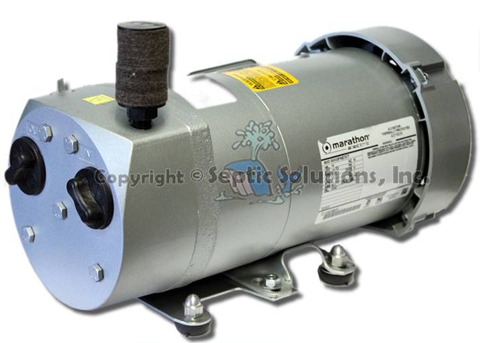 modad sewer system diagram 36 volt battery wiring septic air pump aerator refurbished gast rotary vane pumps