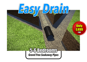 Easy Drain Soakaway Kit 5-6 Bedrooms