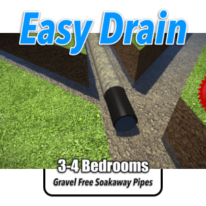 Easy Drain Soakaway Kit 3-4 Bedroom