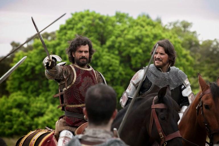 Isabel© Javier de Agustín- el rey Fernando y Gonzalo Ferndez de Córdoba