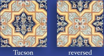 tucson mexican painted tile 4 x4 from sepulveda building materials