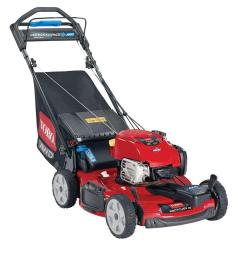toro 20353 awd recycler lawn mower with new briggs stratton exi engine [ 1000 x 1000 Pixel ]