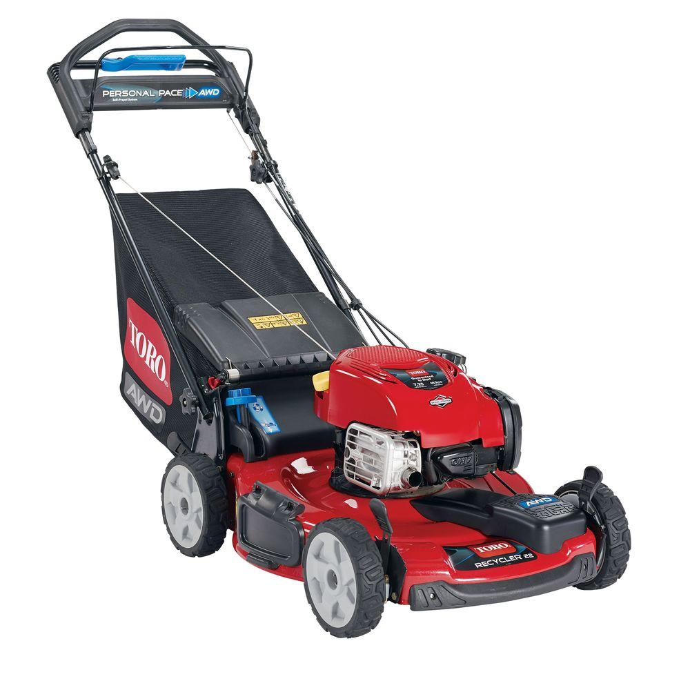 hight resolution of toro 20353 awd recycler lawn mower with new briggs stratton exi engine