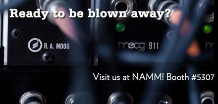 Moog Modular at NAMM?