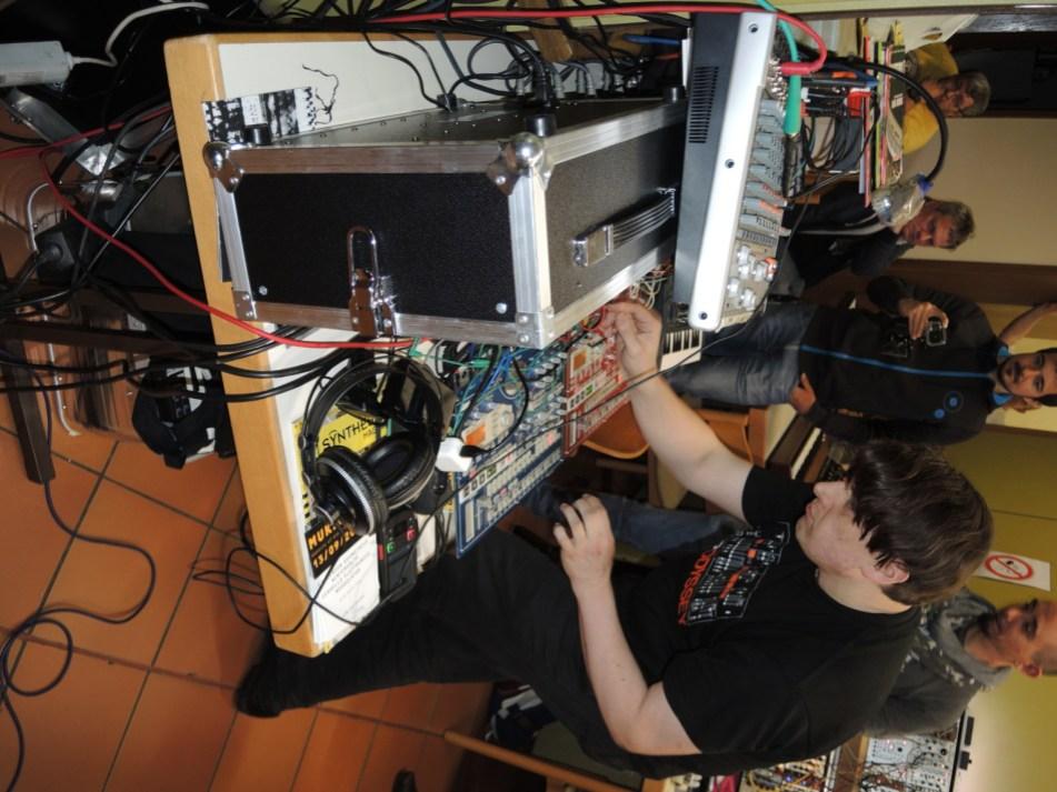 Moogulator at Happy Knobbing 2015 Modular Synthesizer Meeting