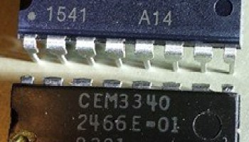 Chips in Synthesizers - CEM,SSM DSP Hardware - Sequencer
