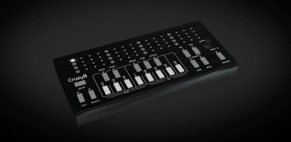 twisted electrons crazy8 sequencer