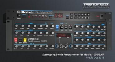 Stereoping Programmer Matrix Oberheim