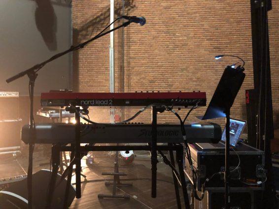 Laibach (equipment) Bochum 0410