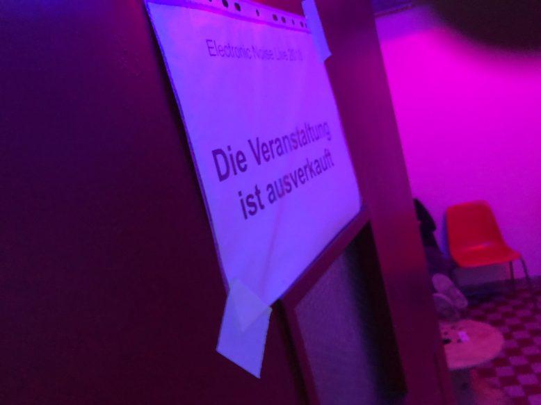 elecrtronic noise live reinraum 891