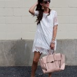 $15 White Shift Dress