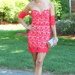 Red Lace Dress + My Summer Bucket List