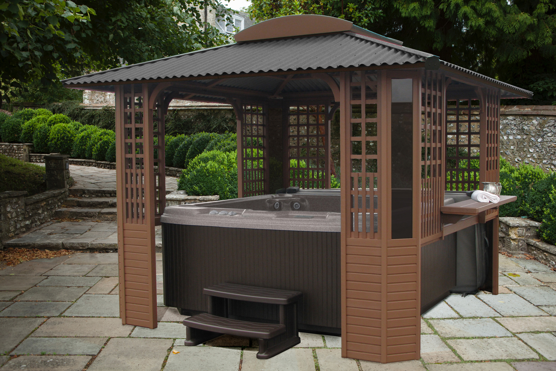 30 Fantastic Spa Enclosures Gazebos Hot Tubs