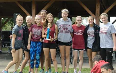 Girls Cross Country Run All Over Charger Invite