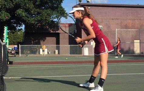 Girls Tennis Sweeps a Win Against Waukegan