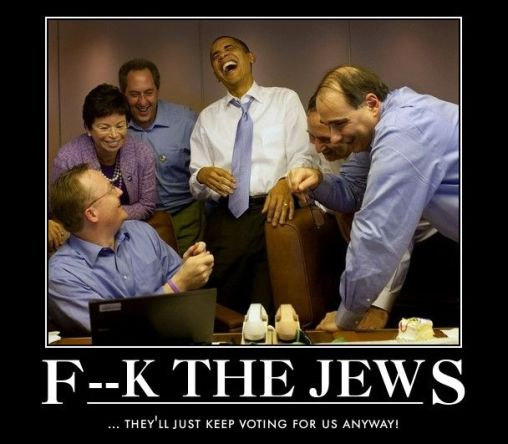 Obama and Sullivan F the Jews