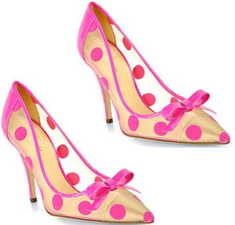 Totally retro and totally cool. The New York Lisa Heel by Kate Spade.