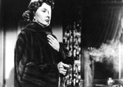 Gloria Grahame is the avenging femme fatale in The Big Heat, 1953.