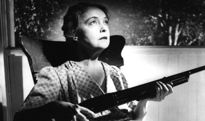 Lillian Gish in Night of the Hunter, 1955.