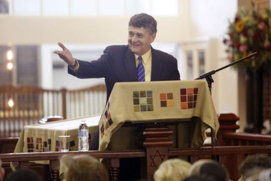 Michael Medved delivers the Eleventh Annual Ariel Avrech Memorial Lecture.
