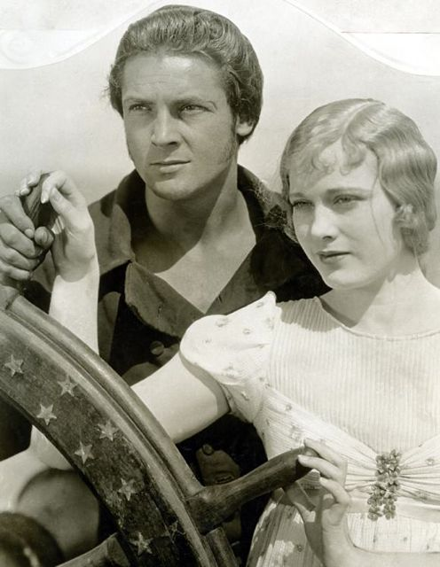 Esther Ralston and Charles Farrell in Old Ironsides, 1926.