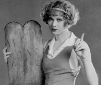 Publicity photo of Esther Ralston for Ten Modern Commandments, the film in which director Dorothy Arzner sexually harassed the young star.