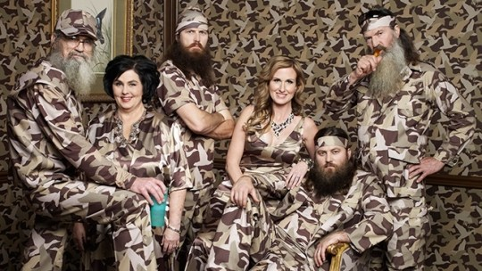 """""""Duck Dynasty,"""" good and charitable people hiding in plain sight on the A&E network garner massive ratings."""