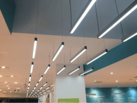 Suspended LED Linear Lighting STL137   Sera Technologies Ltd