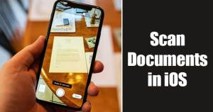 How to Scan Documents with your iPhone (No Third-Party App)