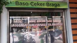 Baso Ceker Braga di Bandung.
