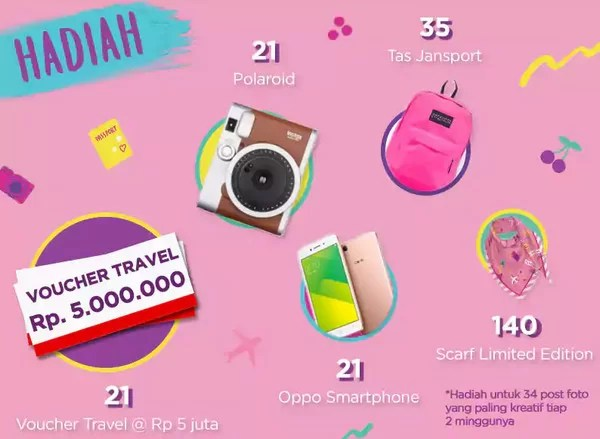 POND'S GOAL GENERATION Flatlay Photo Competition 2018