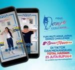 Poster AQUA Japan TikTok Dance Challenge Menangkan Total Hadiah 25 Juta