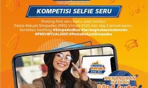 Kompetisi Selfie Seru Pesta Rakyat Simpedes Virtual Oktober 2020