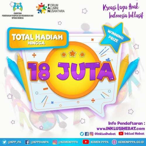 Kreasi Lagu Anak Indonesia Inklusi 2020