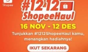Kompetisi TikTok 12.12 Shopee Haul 2020