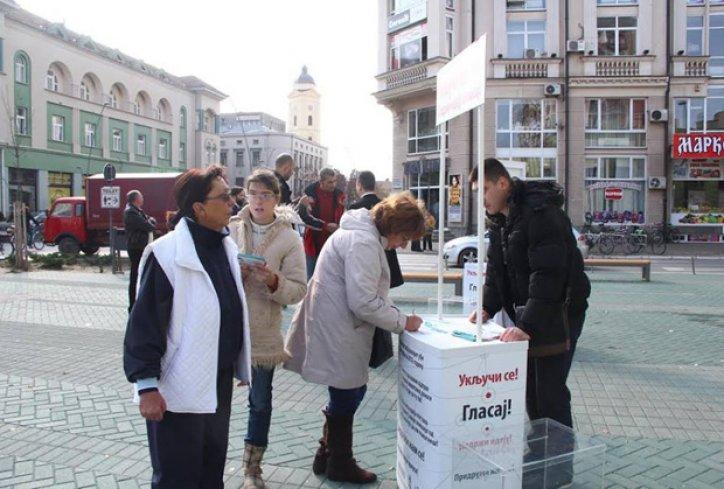 голосование в Шабце