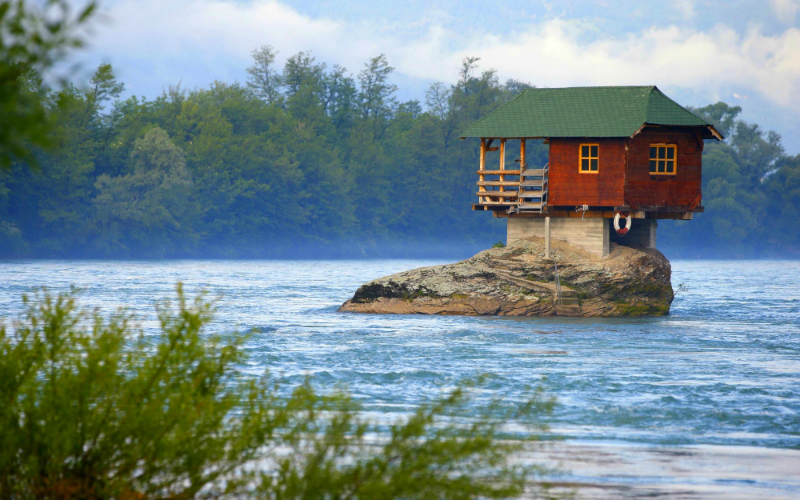 Lonely Drina House
