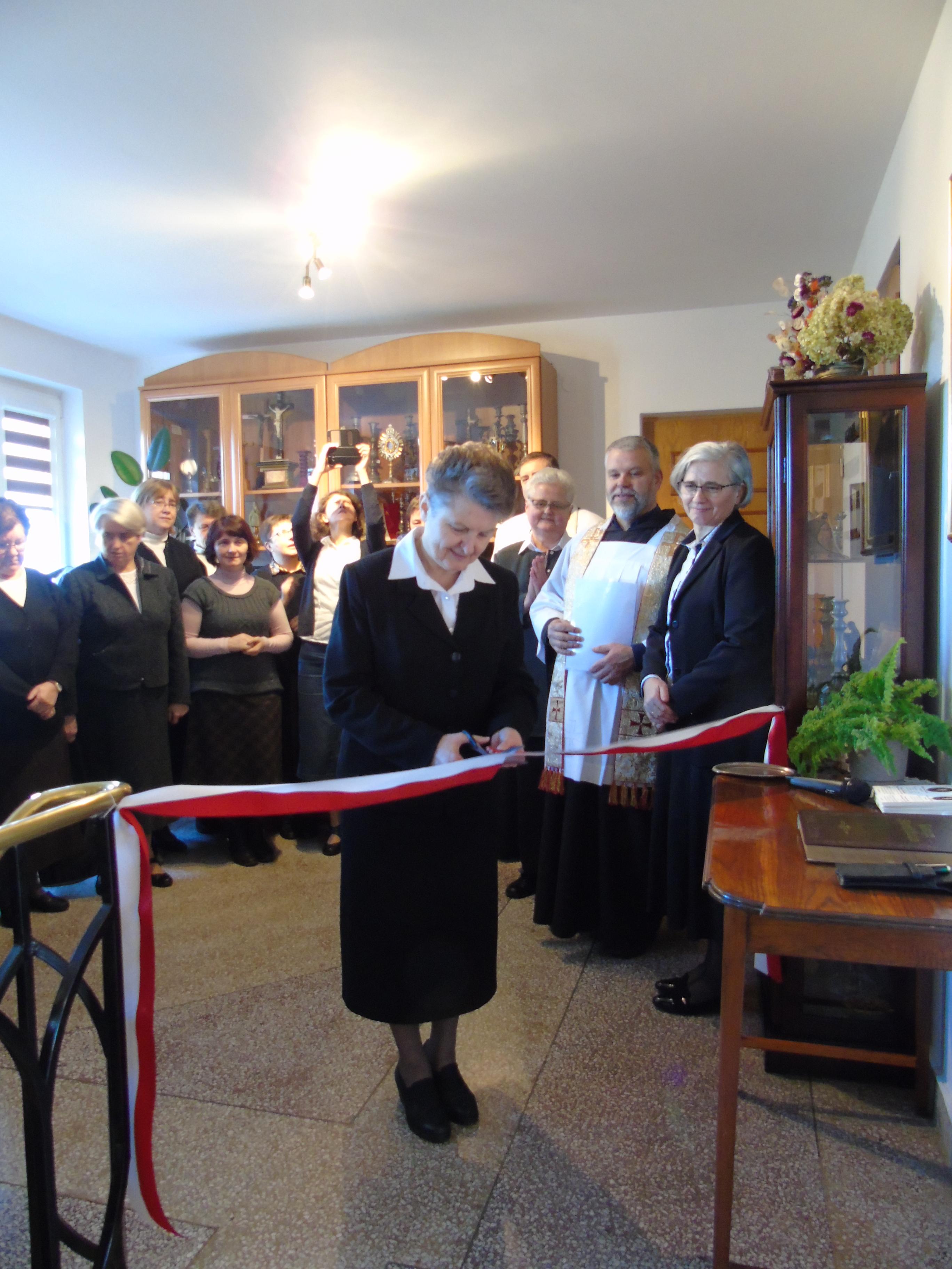 Nowe Miasto - otwarcie Izby Pamięci M. Pauli (18 XI 2017)