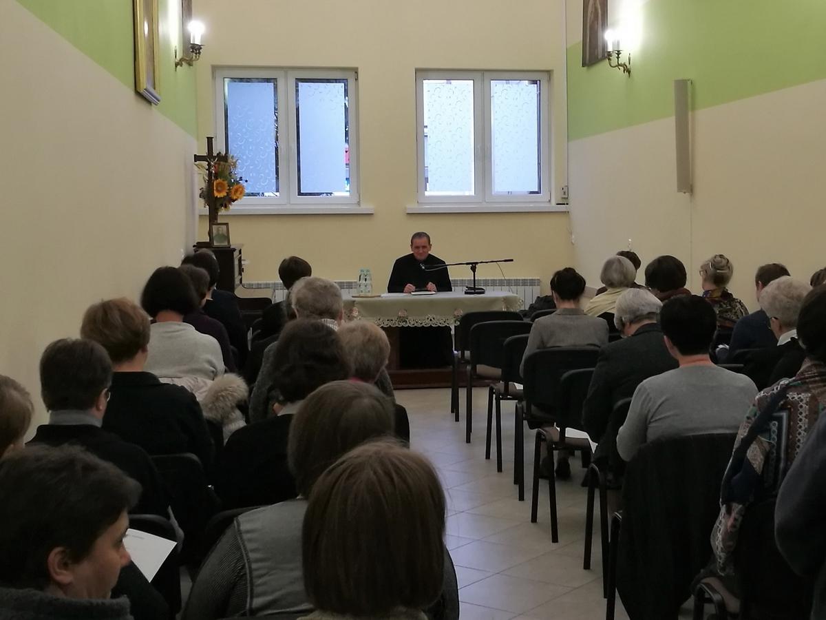 """Sesja """"Rozwój izamieranie wspólnoty zakonnej"""" – ks.K. Wons SDS"""