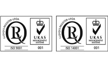Certificaciones iso 14001 y 9001